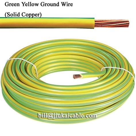 ground wire color earthing connection bare copper ground wire strand ground