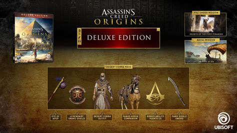 leer ahora assassins creed origins collectors edition en linea pdf e32017 conoce las ediciones especiales de assassin s creed origins resetmx