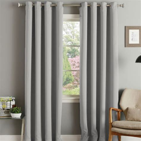 eyelet thermal door curtain linens limited thermal blackout eyelet door curtain 66 x