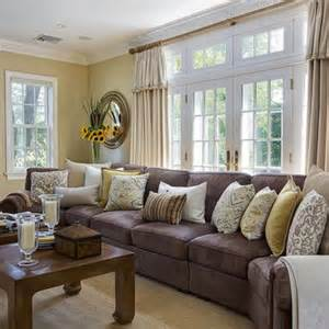 Grey Family Room Ideas Decorating With Gray And Yellow