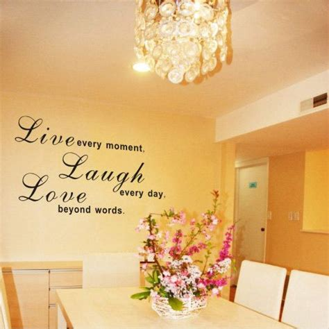 Living Room Word Wall Live Laugh Wall Decal Quotes And Wall On