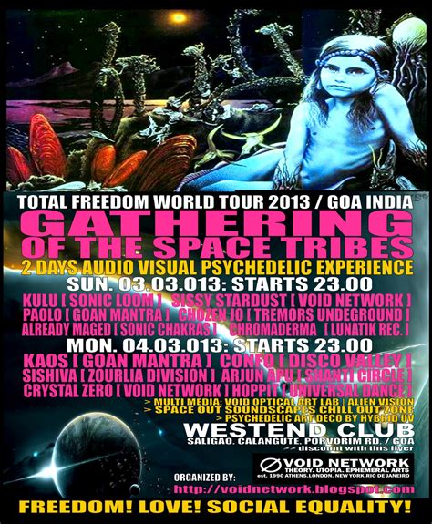 Kaos Sunday Sunday Chill T2909 1 void network total freedom world tour 2013 gathering of