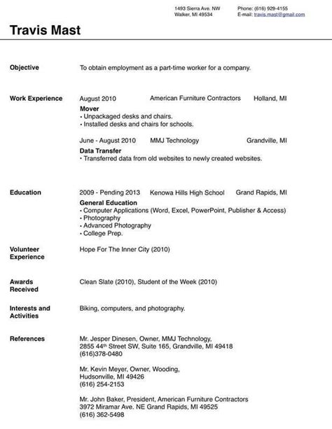 4210 best resume job images on pinterest resume format