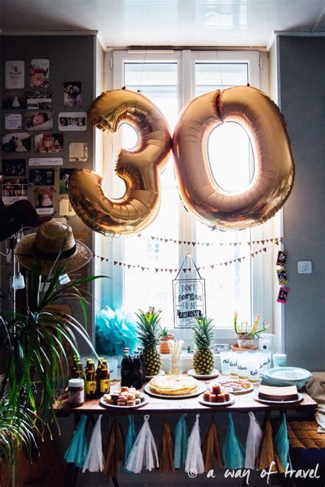 decoration fete anniversaire idee decoration salle anniversaire 30 ans