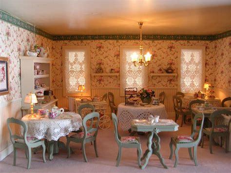 s dollhouse tea room pat s miniatures townhouse row