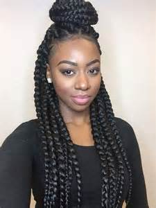 jumbo braids hairstyles for black 25 best ideas about jumbo box braids on pinterest bo 238 te