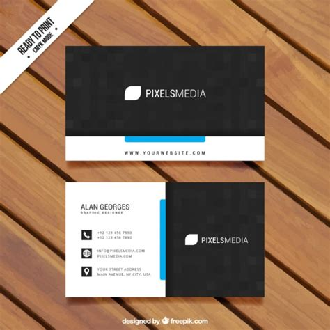 our card template visit card template vector free