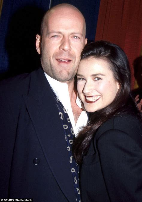 Bruces Fling Is 5 Years Than His by Rumer Willis Wishes Papa Bruce Willis A Happy 63rd