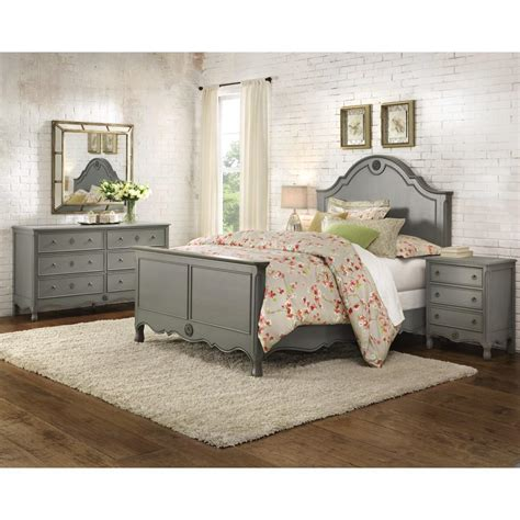 home decorators collection gray furniture the home depot home decorators collection keys 6 drawer dresser in grey