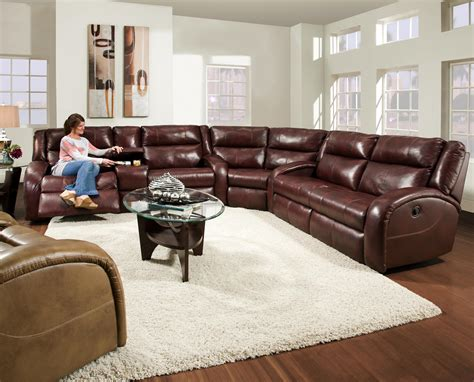 southern couch southern motion maverick reclining sectional sofa with