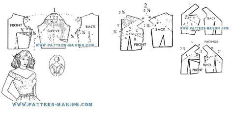 pattern drafting halter top how to draft halter back dress pattern making com