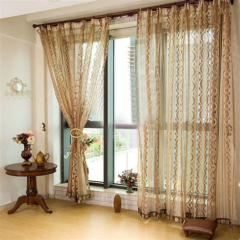 Window Curtain Decor Quality Window Curtain For Living Room Modern Home Decor Window Curtain Volie Sheer
