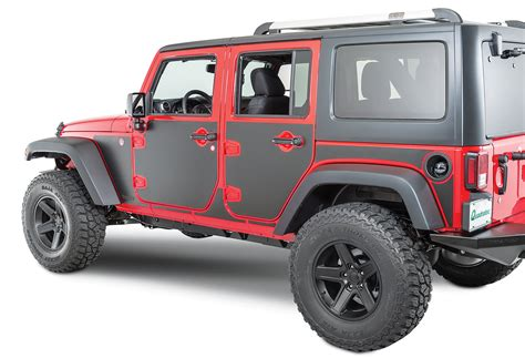 jeep wrangler rugged ridge rugged ridge 12300 53 magnetic 15 protection panel kit for 07 17 jeep 174 wrangler unlimited