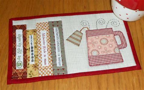 mug rug ideas the patchsmith s day mug rugs 2014