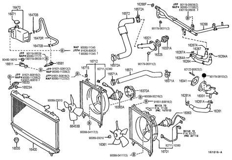 car engine repair manual 2002 toyota solara parental controls 97 01 oem toyota camry 99 02 solara engine coolant thermostat housing 1632103060 ebay