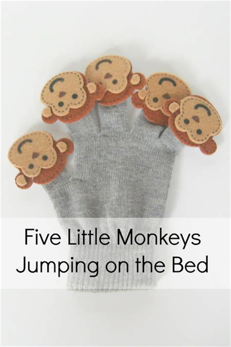 monkeys jumping on the bed video your crafty friend nursery music time bag
