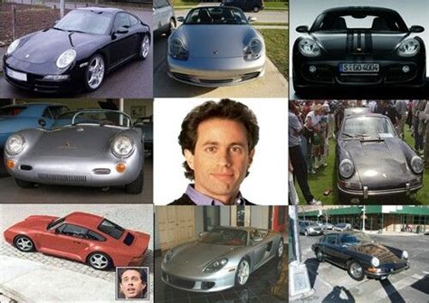 jerry seinfelds car collection consist