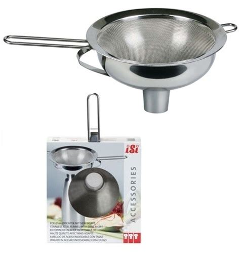Korek Kuping Stainless Steel Isi 2 isi stainless steel funnel with sieve accessories 187 n2 whoa