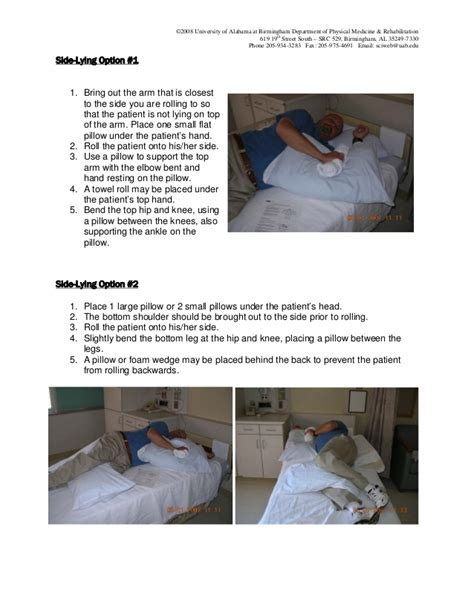 bed positioning bed positioning for the immobile patients