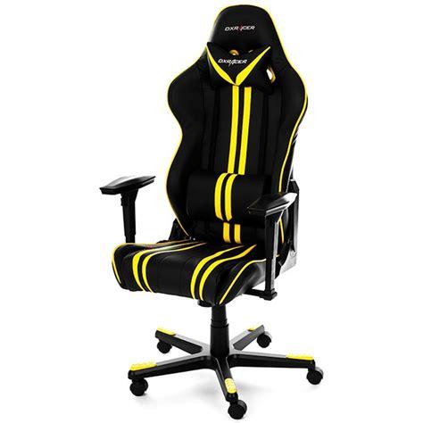 Kursi Gaming Racing Series Black Yellow b grade dxracer racing series gaming chai ocuk