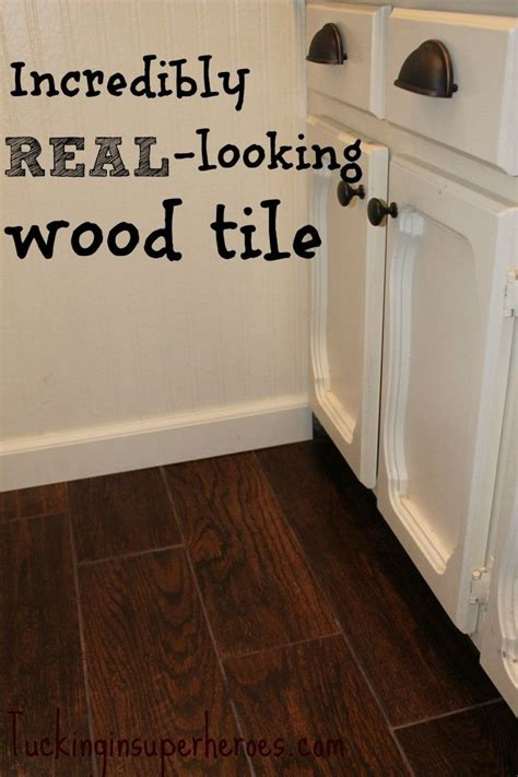 wallpaper that looks like tile home sweet home pinterest wood tile that looks like real wood tuckinginsuperheroes