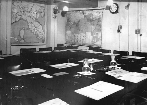 Cabinet War Room by Insight Into Churchill War Rooms Underneath
