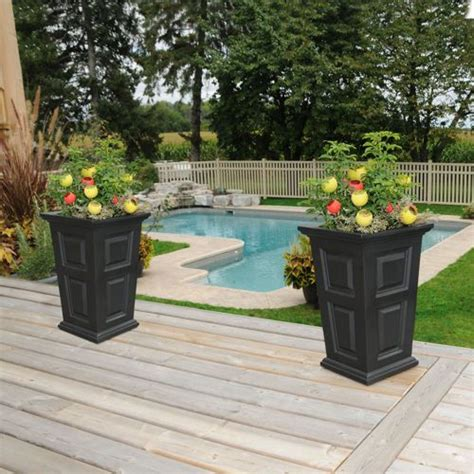 Bring Some Elegance To Your Planters These Tall Outdoor Costco Planter Box