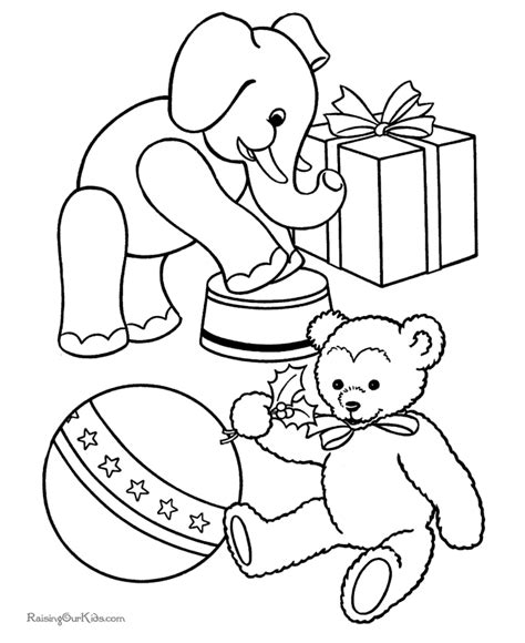 coloring book 7 toys coloring sheets toys