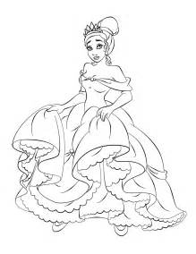 free princess coloring pages free printable princess coloring pages for