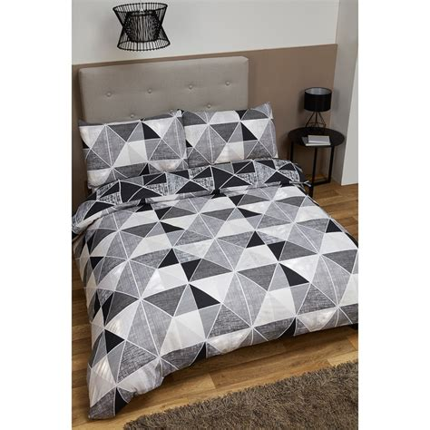 geometric bedding geometric king size duvet set bedding duvet sets b m