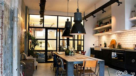industrial chic home decor industrial style home lighting ideas