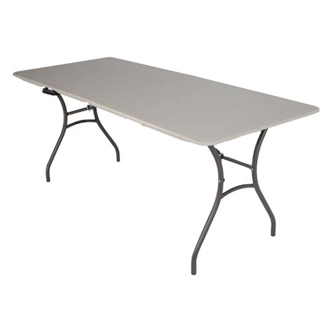 lifetime 72 table shop lifetime products 72 in x 30 in rectangle steel putty