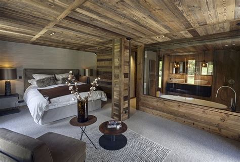 Resort Home Design Interior by Refined Chalet Design In The Ski Resort Home