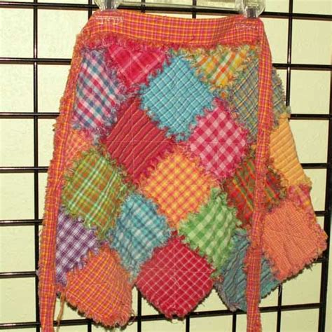 Patchwork Apron Pattern - 110 best rag quilts homespun images on