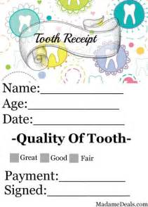 free printable tooth fairy letters real advice gal