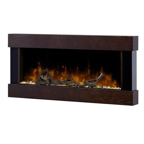 Dimplex Electric Fireplace Wall Mount by Dimplex Chalet Wall Mount Electric Fireplace In Mocha Ash Dwf1204ma