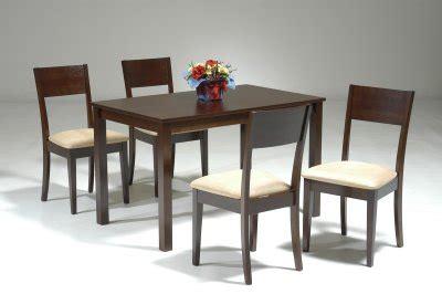 black finish modern dining table w optional side chairs dark walnut finish modern dining table w optional side chairs