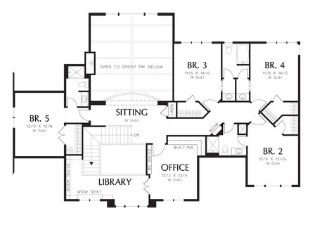 House Plan 2428c The Winthrop Floor Plan Details | house plan 2428c the winthrop floor plan details