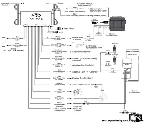 avital wiring diagrams free wiring diagram