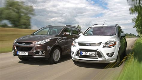 Hyundai Fort by Ford Kuga Vs Hyundai Ix35 Pace Car Rentalpace Car Rental