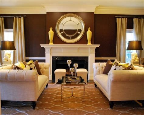 brown walls living room useful tips to choose the right living room color schemes
