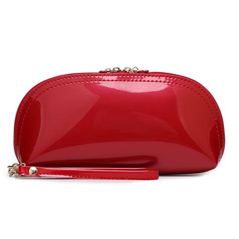 Clutch Bag Import No 1675 1 color patent leather clutch wallets evening bag s multi function phone coin