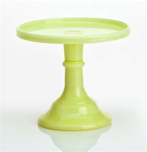 Pedestal Plate mosser glass 10 quot pedestal cake plate butter yellow