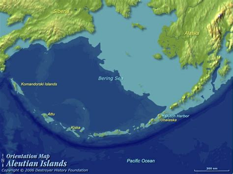 aleutian islands map map of aleutian islands alaska
