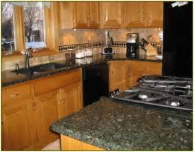 Granite Countertops For White Kitchen Cabinets - verde butterfly granite home design ideas