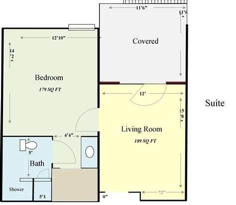 sq ft 200 square feet floor plans