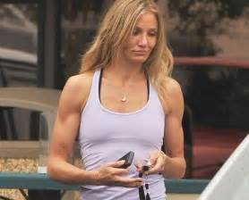 The gun show cameron diaz shows off ripped arms blisstree