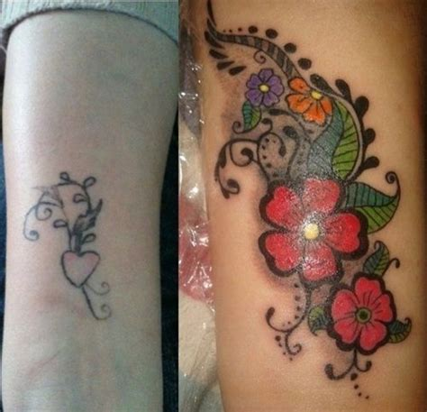 flower tattoo cover up designs the world s catalog of ideas