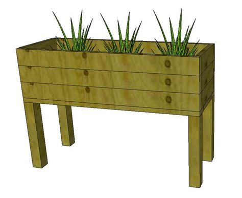 Free Standing Planter Boxes free standing planter boxes woodworking projects plans