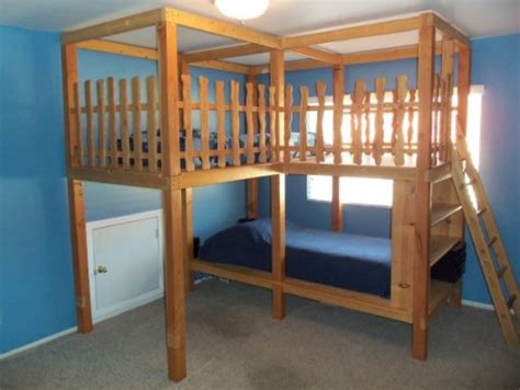 bed for 5 year old boy co ed kids bed